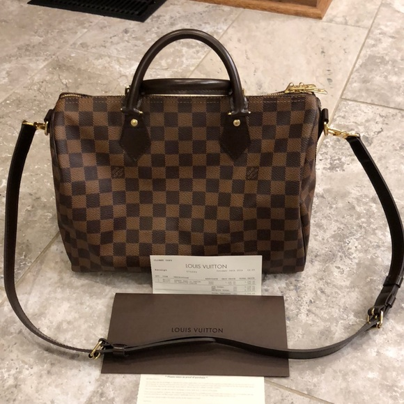 d0c69ae1e3b6 Louis Vuitton Handbags - Louis Vuitton Speedy Band 30 Damier